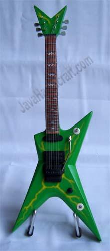 miniature guitar dimebag washburn dime 3stsl slime bolt. Black Bedroom Furniture Sets. Home Design Ideas